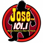 Logo da emissora Radio José 101.1 FM