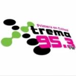 Logo da emissora Radio Xtrema 95.3 FM