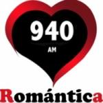Logo da emissora Radio Romántica 940 AM