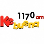 Logo da emissora Radio Ke Buena 1170 AM