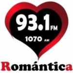 Logo da emissora Radio Romántica 93.1 FM