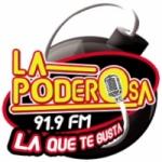 Logo da emissora Radio La Poderosa 91.9 FM