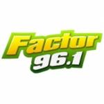 Logo da emissora Radio Factor 96.1 FM