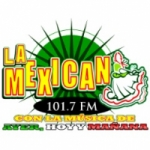 Logo da emissora Radio La Mexicana 101.7 FM