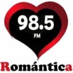 Logo da emissora Radio Romántica 98.5 FM