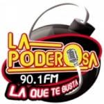 Logo da emissora Radio La Poderosa 90.1 FM