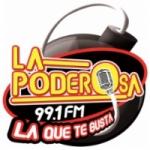 Logo da emissora Radio La Poderosa 99.1 FM