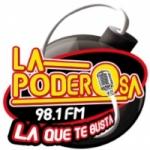 Logo da emissora Radio La Poderosa 98.1 FM