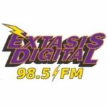 Logo da emissora Radio Éxtasis Digital 98.5 FM