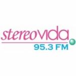 Logo da emissora Radio Stereo Vida 95.3 FM