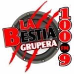 Logo da emissora Radio La Bestia Grupera 100.9 FM