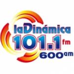 Logo da emissora Radio La Dinámica 101.1 FM