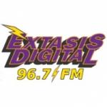 Logo da emissora Radio Éxtasis Digital 96.7 FM