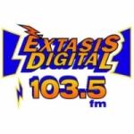 Logo da emissora Radio Éxtasis Digital 103.5 FM