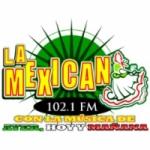 Logo da emissora Radio La Mexicana 102.1 FM