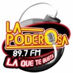 Logo da emissora Radio La Poderosa 89.7 FM