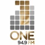 Logo da emissora Radio One 94.9 FM