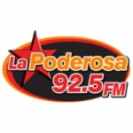 Logo da emissora Radio La Poderosa 92.5 FM