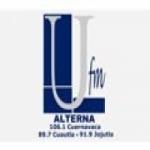 Logo da emissora Radio UFM Alterna 89.7 FM