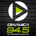 Logo da emissora Radio Dinámica 94.5 FM