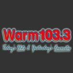 Logo da emissora WARM 103.3 FM