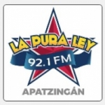 Logo da emissora Radio La Pura Ley 92.1 FM