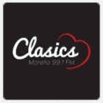 Logo da emissora Radio Clasics 99.1 FM