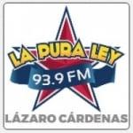Logo da emissora Radio La Pura Ley 93.9 FM