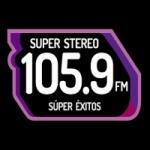 Logo da emissora Radio Super Stereo 105.9 FM
