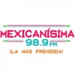 Logo da emissora Radio Mexicanísima 98.9 FM