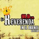 Logo da emissora Radio La Reverenda 91.9 FM
