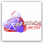Logo da emissora Radio Rhema 88.7 FM