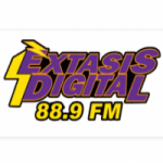 Logo da emissora Radio Éxtasis Digital 88.9 FM