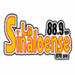 Logo da emissora Radio La Sinaloense 88.9 FM