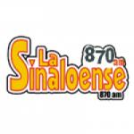 Logo da emissora Radio La Sinaloense 870 AM