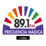 Logo da emissora Radio Frecuencia Mágica 89.1 FM