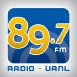 Logo da emissora Radio UANL 89.7 FM