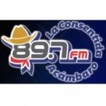 Logo da emissora Radio La Consentida 89.7 FM
