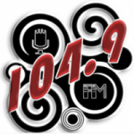 Logo da emissora Radio La 104.9 FM