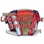 Logo da emissora Radio La Que Buena 99.5 FM