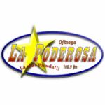 Logo da emissora Radio La Poderosa 100.9 FM
