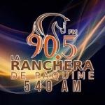 Logo da emissora Radio La Ranchera de Paquimé 540 AM 90.5 FM