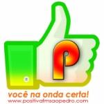 Logo da emissora Positiva FM São Pedro