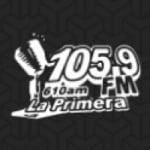 Logo da emissora Radio La Primera 105.9 FM