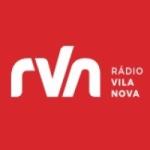 Logo da emissora Rádio Vila Nova