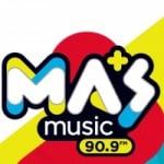 Logo da emissora Radio Masmusic 90.9 FM