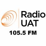 Logo da emissora Radio UAT 105.5 FM