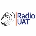 Logo da emissora Radio UAT 104.9 FM