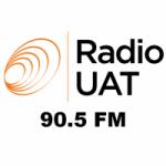 Logo da emissora Radio UAT 90.5 FM