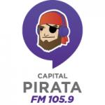 Logo da emissora Radio Capital Pirata 105.9 FM